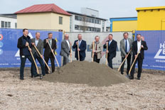 Ground-breaking ceremony for modern production halls at KIEFEL GmbH