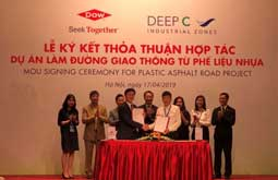 Green Materials: Dow/DEEP C to build first road using recycled plastics in Vietnam