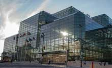 Jacob K. Javits Convention Centre in Manhattan,