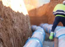 CEN has published the first EN standard for PVC-O pressure pipes