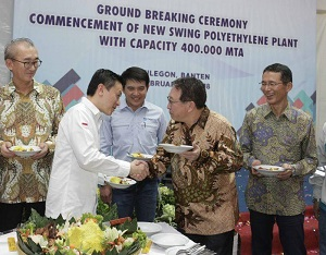 PT Chandra Asri's new 400 KTPA PE plant to rise in Banten