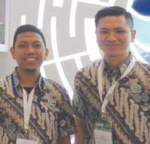 Andri Wijaya and Mario Sapu