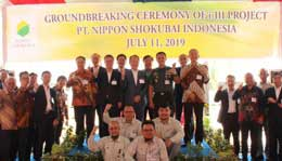 Nippon Shokubai breaks ground on acrylic acid plant in Indonesia