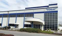 Toray to set up battery separator film (BSF) production in Hungary