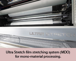 Ultra Stretch film stretching system