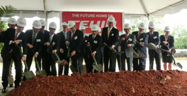 Teijin Limited recently celebrated the groundbreaking