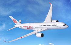 JAL's A350 XWB world's first aircraft using CFRTP parts