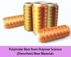 Polyimide-fiber