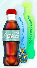 Coke works with Indorama and Ioniqa to produce bottles from marine plastics