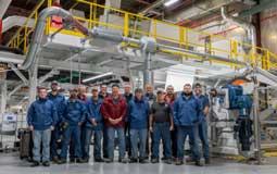Taghleef installs Davis-Standard's liquid coating line in the US