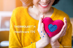 KRAIBURG TPE to launch new Thermolast H exclusively for Asia Pacific healthcare and medical device market