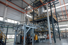 Compounding plant for basic stabilisation of PP powder
