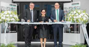 Arburg recently opened its new premises in Samutprakarn