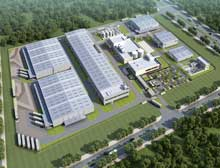 BASF constructs surface treatment facility in China
