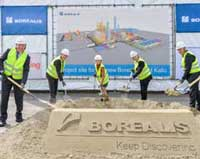 Borealis breaks ground on new propylene facility in Belgium