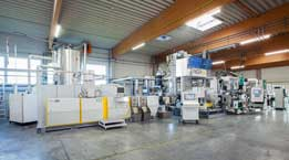 NGR/Kuhne team up to show PET recycling/sheet production line